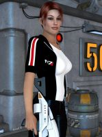 Commander Angie Shepard 02 by hotrod5