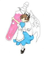 Haruhi in Wonderland 2 by AnimeJanice