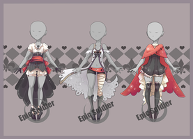 Costume adoptables 2 (closed) by Epic-Soldier
