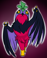 Shiny Hawlucha by Nukeleer