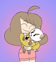 Bee and Puppycat by JoeyWaggoner