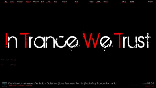 trance desktop . by dublusto