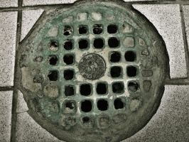 Drain Texture 01 by Aimi-Stock