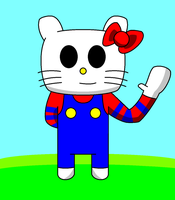 Hello Kitty(Request) by sonicsmash328