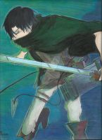 Levi Rivaille by EvaLawliet