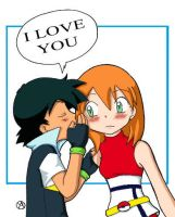 Ash e Misty - I love you by Ya-chan85