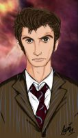 The 10th Doctor... by Azumina