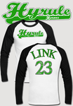 Hyrule Heroes Baseball T Shirt by Enlightenup23