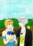 Dating sims Ukraine - w/ Prussia by seillua
