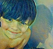 My son Robert by SnapColorCreations