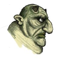 Wacom Test: Ogre by Kmadden2004