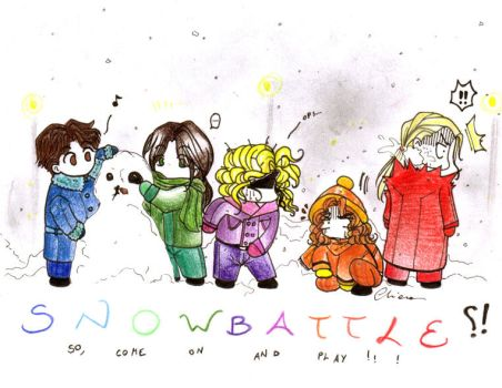 Snow battle by Rucci
