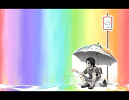 Life like pouring Rainbow by hakumo
