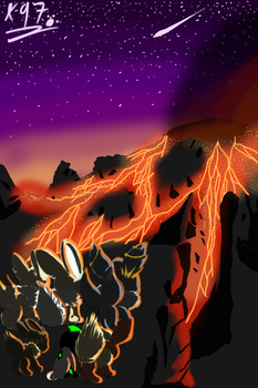 The true side of Fluffy Volcano Contest Entry by Axial97