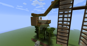 Tree House On Minecraft Picture #4 by calebv12667
