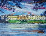 Old-College Sandhurst A large by LauraHolArt