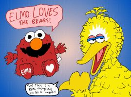 Really, Sesame Workshop... by mightyfilm