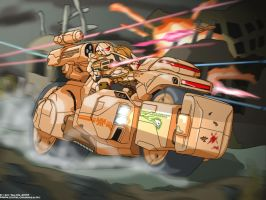 Alliance Tank-Bike by ZixTalon