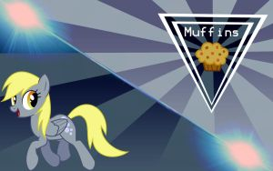 Derpy Wallpaper by MonsterPon3