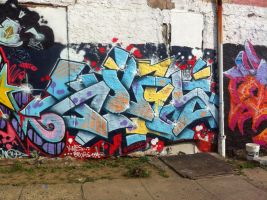 Kwes Philly Graff by jweb3d