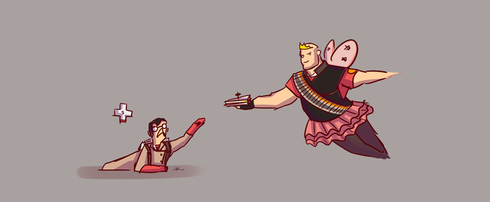 Creation of sandvich by pyritefish