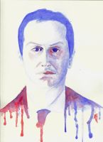 James Moriarty Watercolour by aidanabet