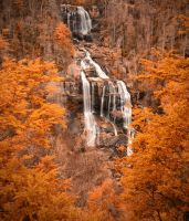 White Water Falls by SteelAtlas