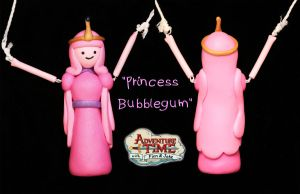 AT: Princess Bubblegum Necklace by crymsonlyze