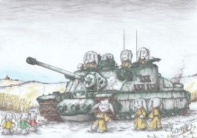 Tortoise heavy assault Tank by Patoriotto