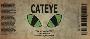 Cateye label by emptysamurai