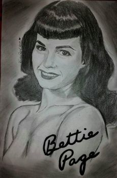 BETTIE PAGE - Kaisha Rene' D (Missy Munster) by MissyMunster13x