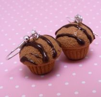 chocolate muffins by lemon-lovely