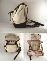 Artist's Adventure Backpack by Rebeccannoying