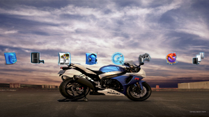 Bikes PS3 Theme by wallacerp