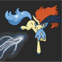 Keldeo by MarysPurplePanda