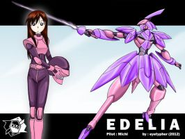 Edelia by eyetypher