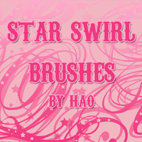Star Swirl Brushes by hao08