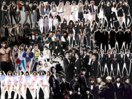 K-POP Wallpaper -Collage- by justshocking