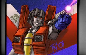 Starscream by Mentacle