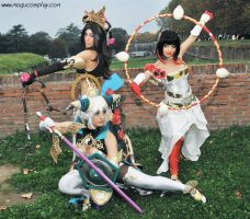 Dynasty Warriors by drummerina