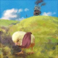 Chick's Moving Castle by Carlotta4th