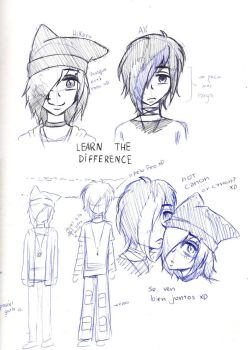 differences ~OCs~ by TheLostCinnamonRoll
