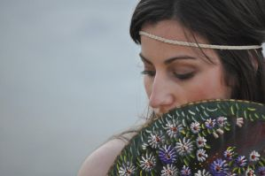 of flowers and greenery by glos