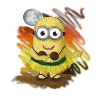 FanArt Friday: Hawaii Minion by diegio1996