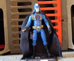 Custom Cobra Commander by maulsballs