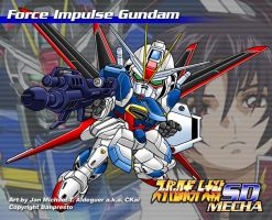 SD Force Impulse Gundam by CKaiCydek
