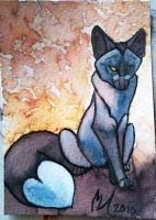 ACEO-Private Collection-Profox by Quoosa