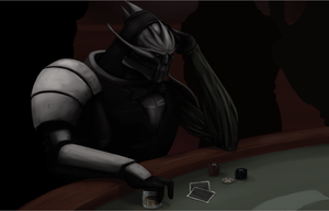 Chilling at the Casino - WIP 4 by VillageIdiot55