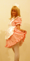 French Maid Stock II by EnchantedCupcake