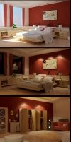smooth bedroom - finally done by zigshot82